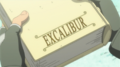 Soul Eater Episode 9 HD - Black Star learns Excalibur wrote own book