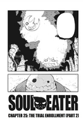 Soul Eater Chapter 25 - Cover