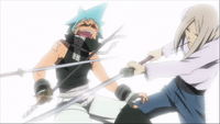 Episode 28 - Mifune gains the upperhand on Black Star.