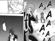 Chapter 103 - Stein, Spirit, Akane, and DWMA men feeling the madness attack