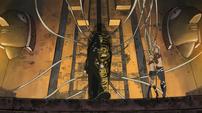 Soul Eater Episode 3 HD - Pharaoh holds Thompsons captive
