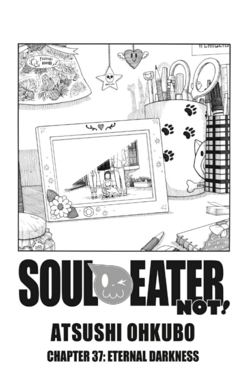 Soul Eater NOT Chapter 37 cover