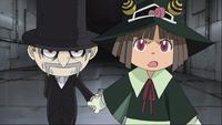 Episode 28 - Angela tells Black Star about Mifune's kindness towards kids