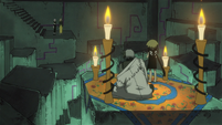 Soul Eater Episode 44 HD - Medusa and Stein face Marie and Crona (16)