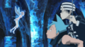 Soul Eater Episode 9 HD - Black Star and Kid find Fairy