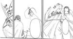 Masamune fights Tsubaki