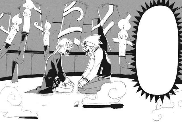 File:Soul Eater Chapter 10 - Maka and Soul argue.png