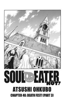 Soul Eater Not! Chapter 40