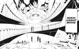 Soul Eater Chapter 91 - Demon Airship bridge