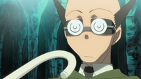 Soul Eater Episode 17 - Ox faces Excalibur's cane
