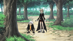 Soul Eater Episode 37 HD - Maka and Soul Evans practice in Second Campus