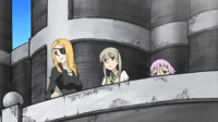 Soul Eater Episode 26 HD - Crona at balcony (3)