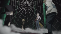 Episode 29 - Mosquito, Mifune, and Giriko intercept Medusa