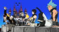 Soul Eater Episode 51 HD - Credits the main seven