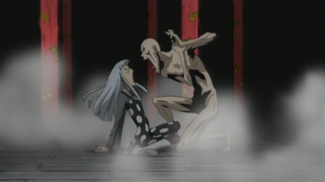 File:Soul Eater Episode 24 HD - Asura screams at Eruka.png