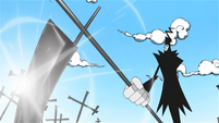 Soul Eater Episode 48 HD - Lord Death battles Asura (1)