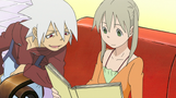 Soul Eater Episode 14 - Soul and Maka look at photo album