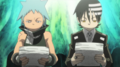 Soul Eater Episode 9 HD - Black Star and Kid receive Excalibur's Provisions