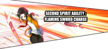 Flaming Sword Charge