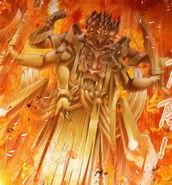 Asura God Statue