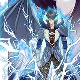 Blue Lightning Tyrant Dragon Mug