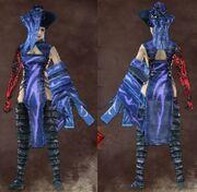 Blue Female Stranger