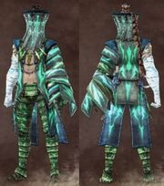 Male green stranger