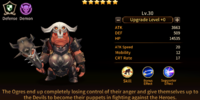 Ogre Crazy Warrior