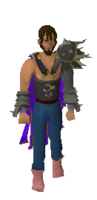 Bandos chestplate equipped