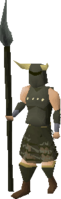 Guthans armour equipped