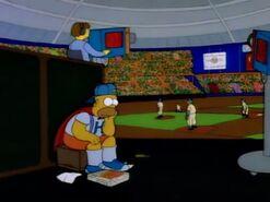 The Simpsons Medium Exterior Crow PE141401