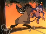 Timon and Pumbaa TV Series Hollywoodedge, Chimpanzee Screeche PE026201 2