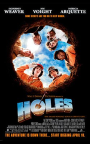Holes 2003 poster