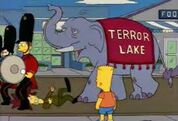 The Simpsons Hollywoodedge, Elephant Trumpeting PE024801 6