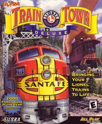 3D Ultra Lionel Train Town Deluxe Logo