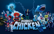 Robot chicken cover
