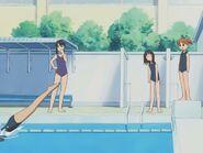Azumanga Daioh Ep 12 Hollywoodedge, Large Splash Or DiveW PE127201