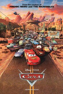 Cars 2006 poster