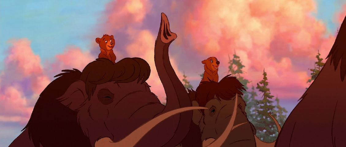 a historical perspective on disneys latest film brother bear Disney's brother bear immerses you in a fully interactive version of kenai's world, complete with the lush environments based on the animated film join.