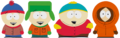 Stan, Kyle, Cartman, and Kenny.png