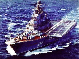 Novorossijsk Kiev-class 1986