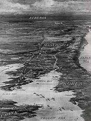 220px-Battlefields in the Russo Japanese War