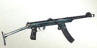 PPS submachine gun