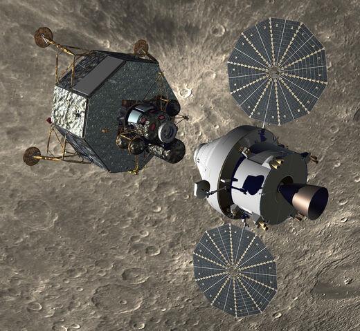 File:Orion and Altair in Lunar orbit.jpg