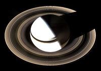 Saturn from Cassini Orbiter (2007-01-19)