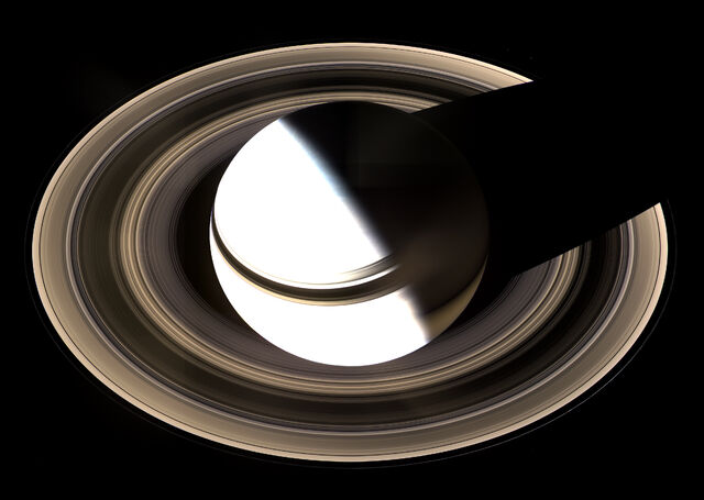 File:Saturn from Cassini Orbiter (2007-01-19).jpg