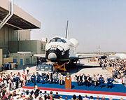 220px-Discovery rollout ceremony-1-