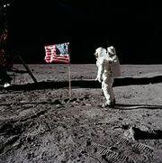 220px-Buzz salutes the U.S. Flag-1-