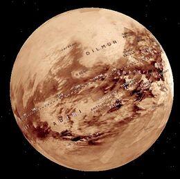 Titan globe m