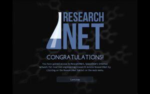 ResearchNet unlocked